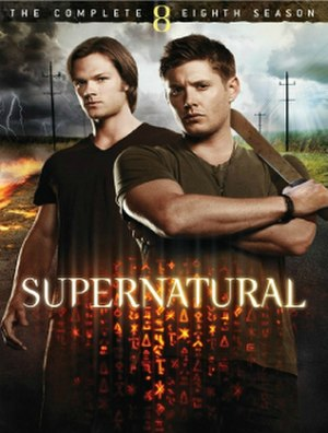 Supernatural (season 8) - DVD cover art