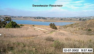 East County, San Diego - Image: Sweetwaterriver 1