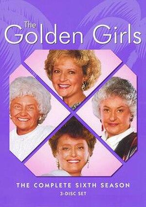 The Golden Girls (season 6) - Season 6 DVD Cover