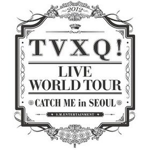 Catch Me: Live World Tour - Tour logo