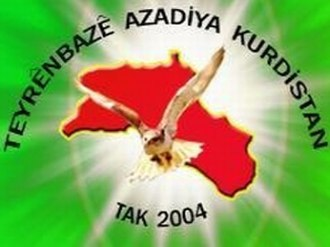 August 2011 Turkey-Iraq cross-border raids - Image: Tak Flag