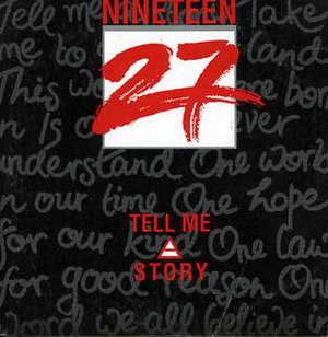 Tell Me a Story (1927 song) - Image: Tell Me a Story by 1927