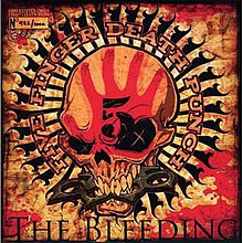 Five Finger Death Punch The Way Of The Fist Album Cover The Bleeding (song) - ...