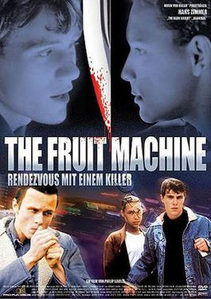 The Fruit Machine - German DVD Cover for The Fruit Machine, a/k/a Wonderland (USA)