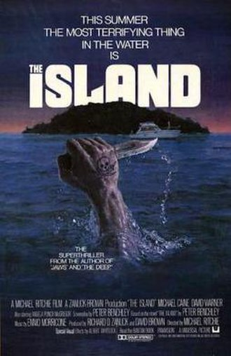 The Island (1980 film) - Theatrical poster