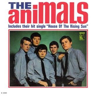 The Animals (American album) - Image: The Animals (American album)