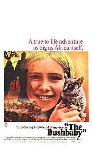The Bushbaby - Theatrical poster