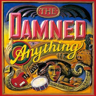 Anything (The Damned album) - Image: The Damned Anything album cover