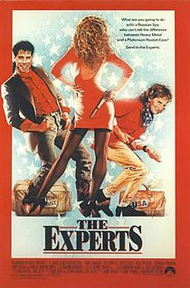 <i>The Experts</i> (1989 film) 1989 film by Dave Thomas