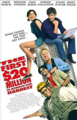 The First $20 Million Is Always the Hardest - Theatrical release poster