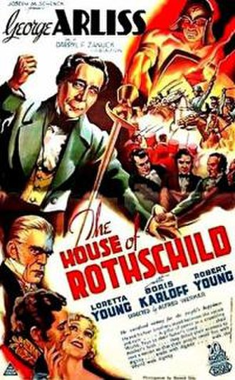 The House of Rothschild - Theatrical release poster