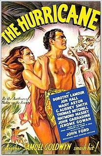 <i>The Hurricane</i> (1937 film) 1937 film by Stuart Heisler, John Ford