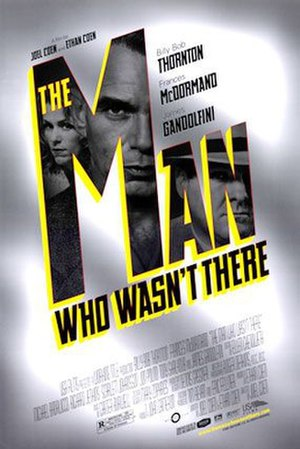 The Man Who Wasn't There (2001 film) - Theatrical release poster