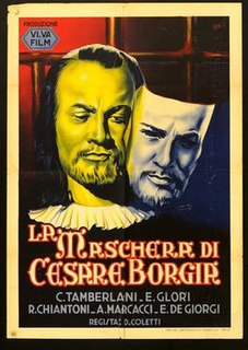 <i>The Mask of Cesare Borgia</i> 1941 film by Duilio Coletti