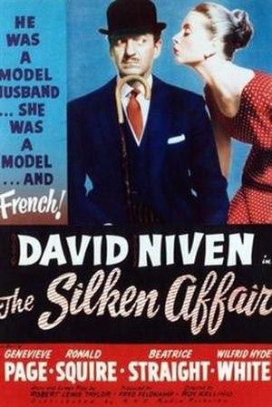 The Silken Affair - Image: The Silken Affair (1956 film)