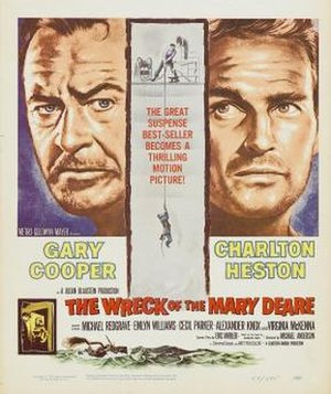The Wreck of the Mary Deare (film) - theatrical release poster