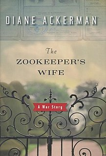 <i>The Zookeepers Wife</i> 2007 book by Diane Ackerman