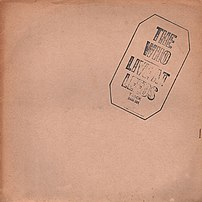 Live at Leeds album cover