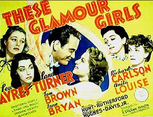These Glamour Girls - Theatrical poster