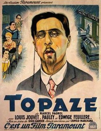Topaze (1933 French film) - Image: Topaze (1933 French film)