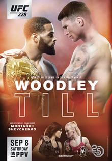 UFC 228 PPV Woodley vs Till