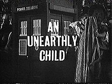 an unearthly child wikipedia