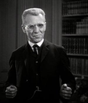 Abraham Van Helsing - Edward Van Sloan as Van Helsing in Dracula (1931)