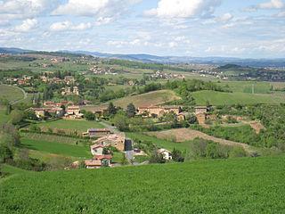 Ville-sur-Jarnioux Commune in Auvergne-Rhône-Alpes, France