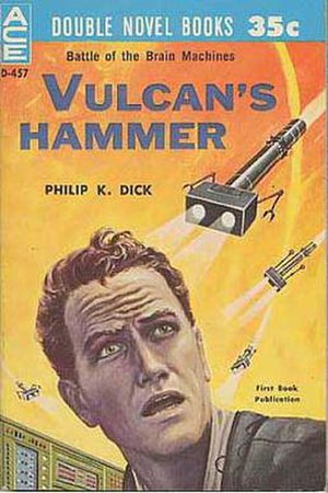 Vulcan's Hammer - Cover of first edition (paperback)