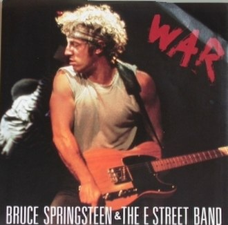 War (The Temptations song) - Image: War Springsteen Single Cover