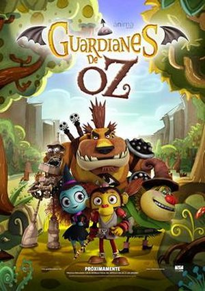 Guardians of Oz - Mexican theatrical release poster
