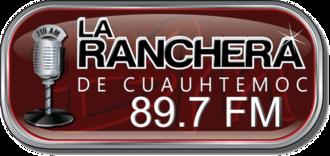 XHDP-FM - Image: XHDP 89.7FM logo
