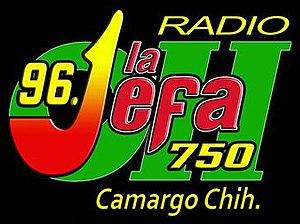 XHEOH-FM - Image: XHEOH La Jefa 96.1 logo
