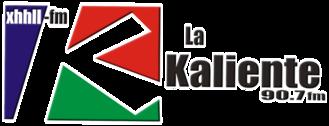 XHHLL-FM (Sonora) - Image: XHHLL La Kaliente 90.7 logo