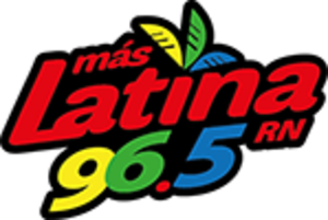 XHRN-FM - Image: XHRN Mas Latina 96.5 logo