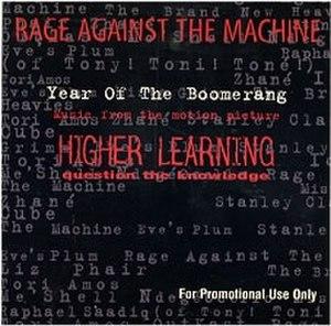 Year of tha Boomerang - Image: Year of the Boomerang