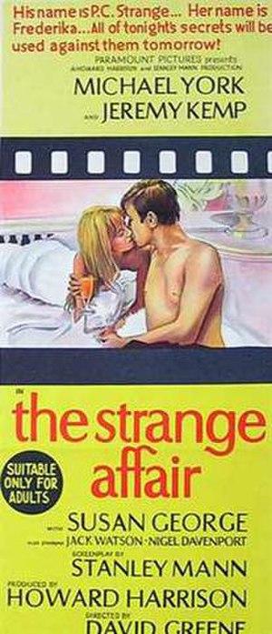 The Strange Affair - Australian daybill poster