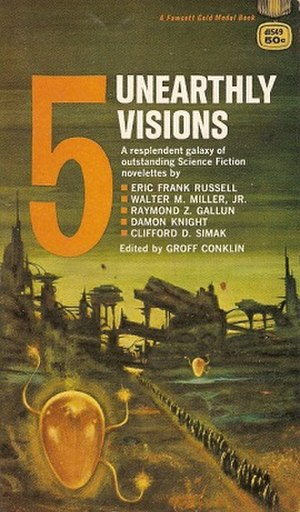 5 Unearthly Visions - cover of first edition