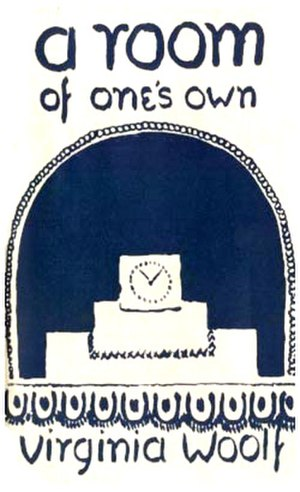 A Room of One's Own - First edition cover by Vanessa Bell