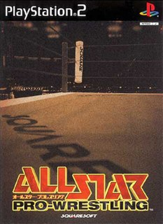 <i>All Star Pro-Wrestling</i> 2000 video game