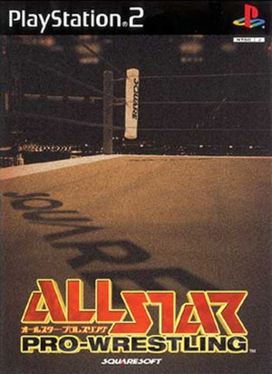 All Star Pro-Wrestling - Image: ASP cover art
