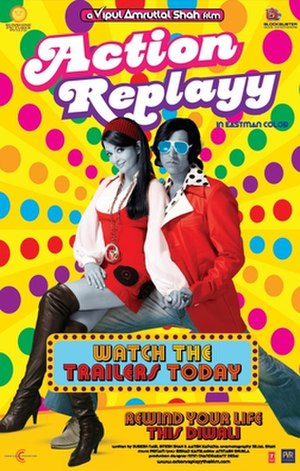Action Replayy - Promotional poster