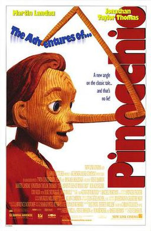 The Adventures of Pinocchio (1996 film) - Theatrical release poster