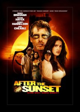 After the Sunset - International poster