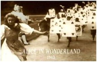 Cecil Hepworth - Hepworth produced the first film version of Alice in Wonderland in 1903.
