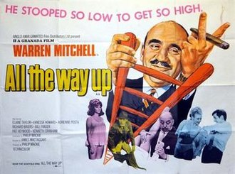 All the Way Up - British quad poster by Tom Chantrell