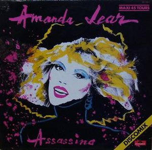 Assassino - Image: Amanda Lear Assassino
