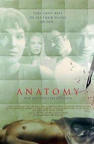 Anatomy (film) - Theatrical release poster