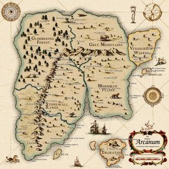 Arcanum: Of Steamworks and Magick Obscura - Image: Arcanum map 2