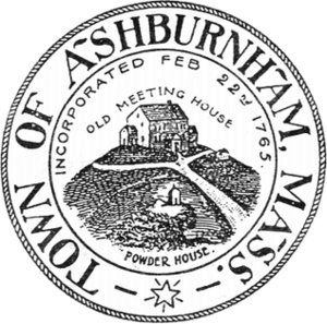 Ashburnham, Massachusetts - Image: Ashburnham MA seal
